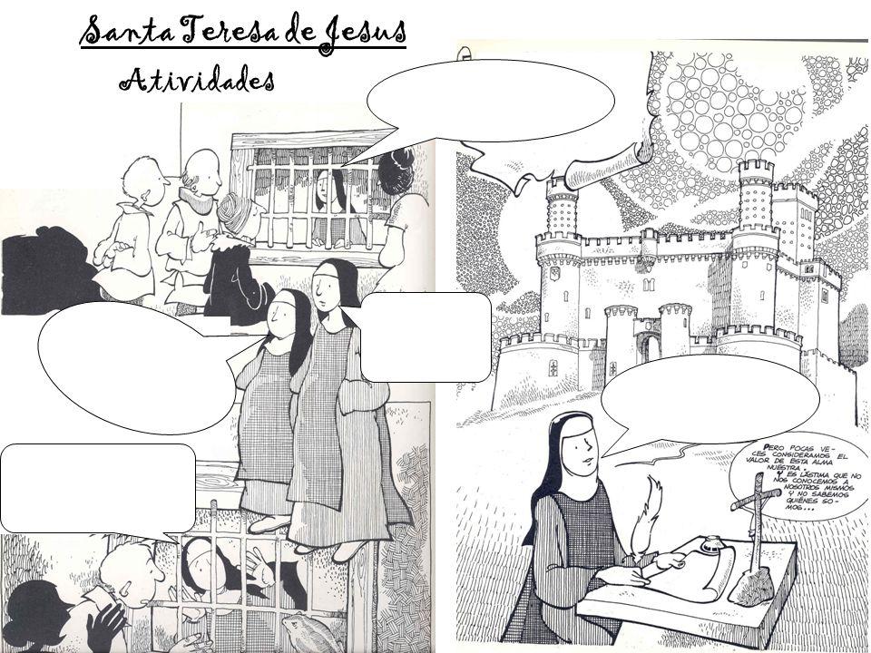 Atividades Santa Teresa de Jesus