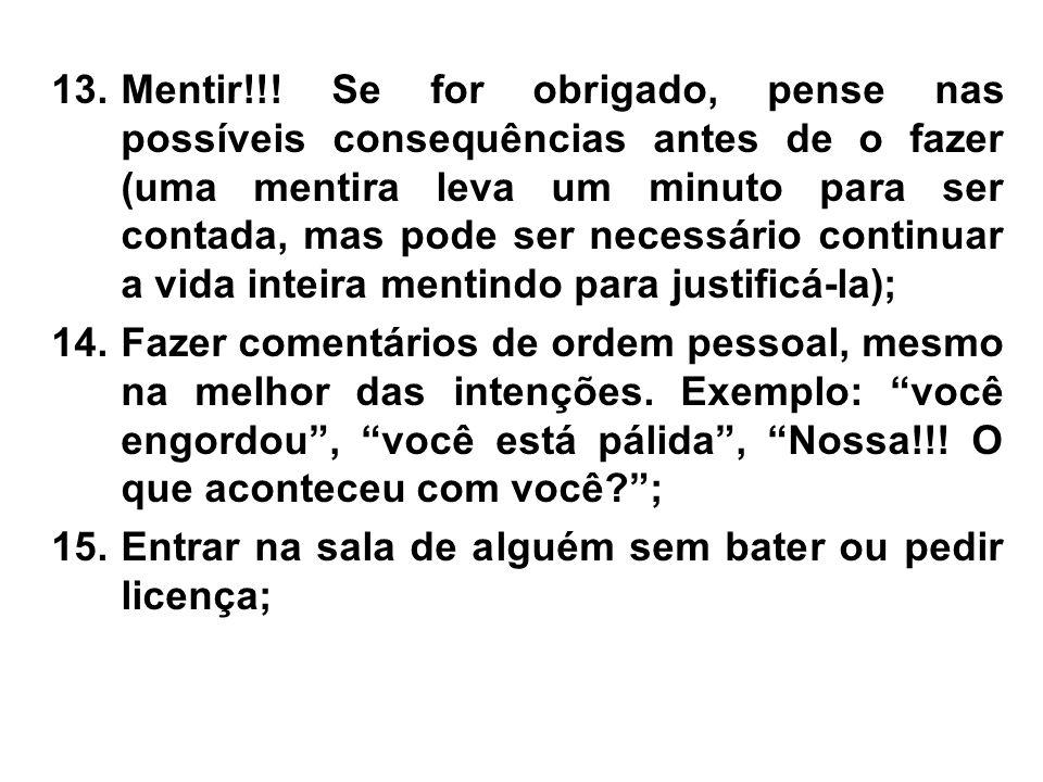 13.Mentir!!.