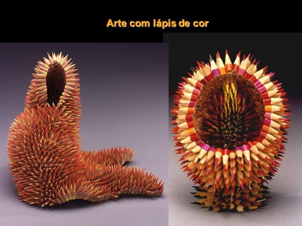 Esculturas de goma de mascar