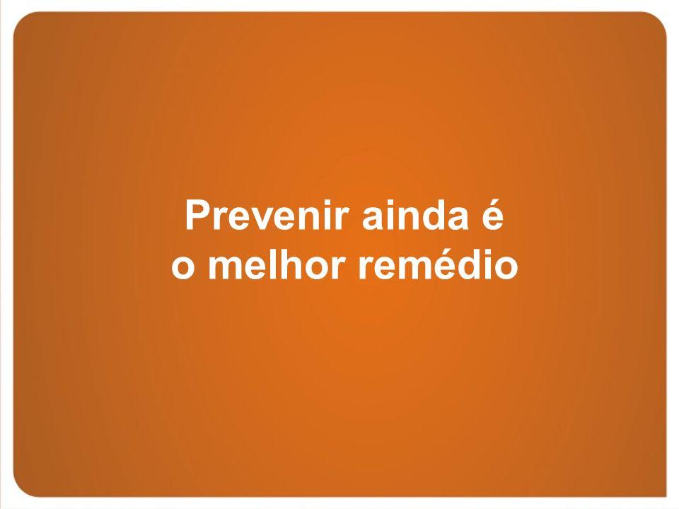 Prevenir ainda é o melhor remédio