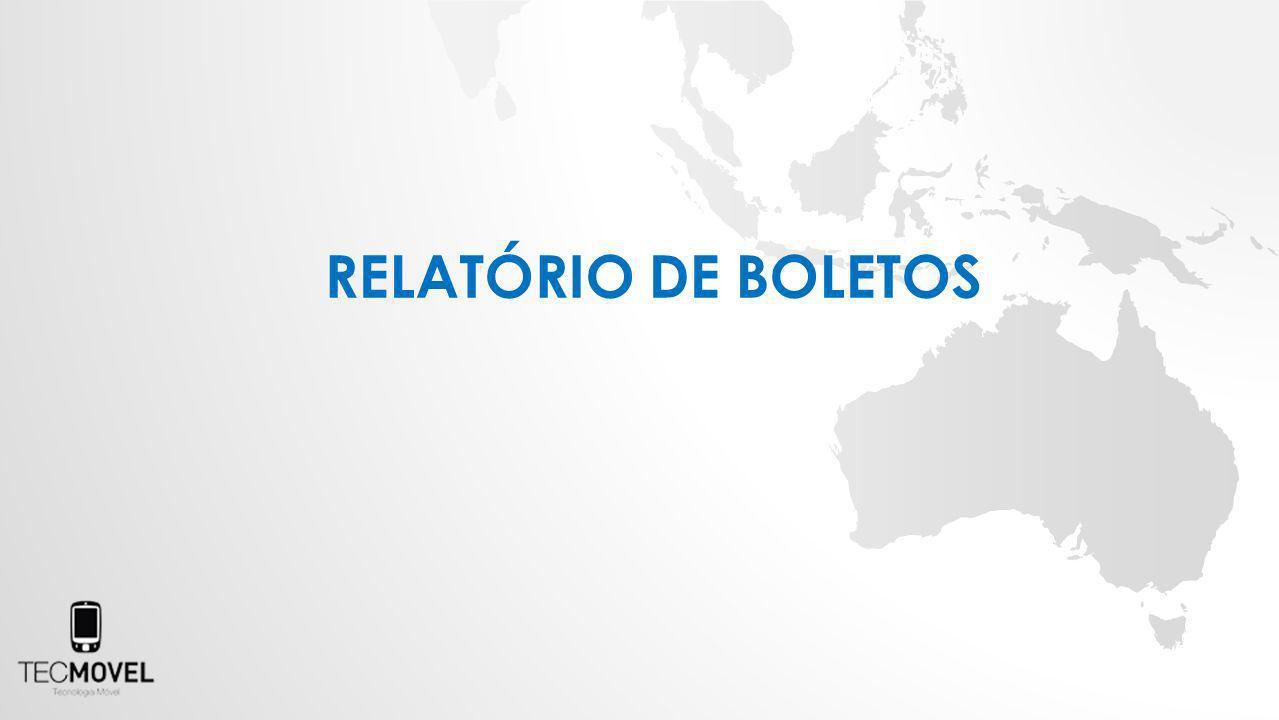 RELATÓRIO DE BOLETOS