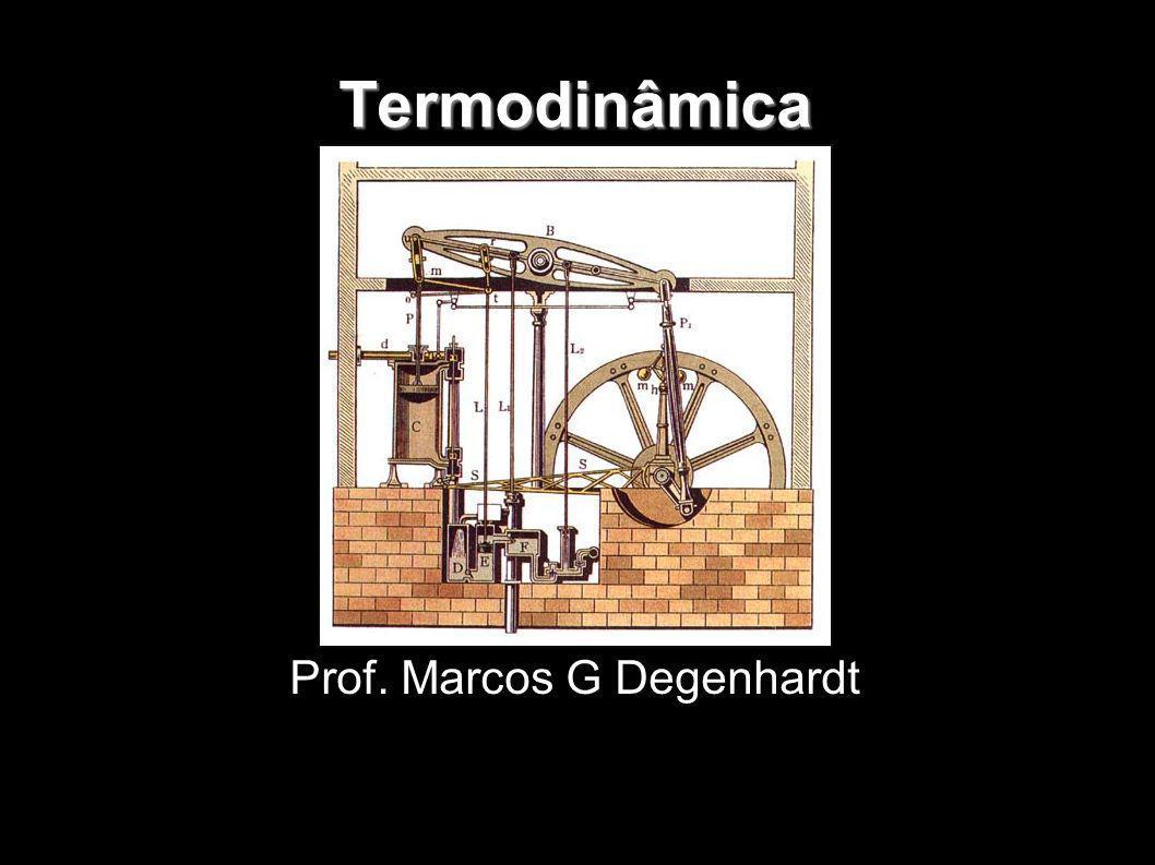Termodinâmica Prof. Marcos G Degenhardt