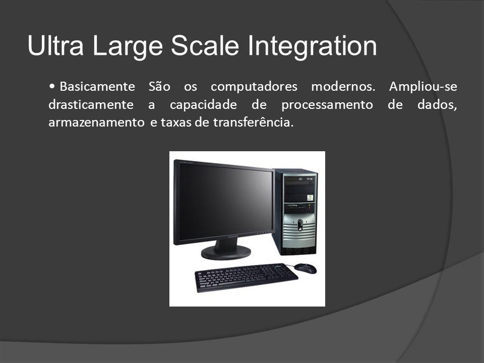 Ultra Large Scale Integration Basicamente São os computadores modernos.