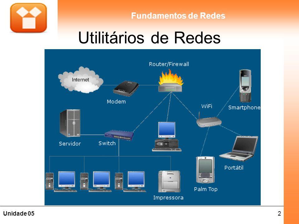 2Unidade 05 Fundamentos de Redes Utilitários de Redes