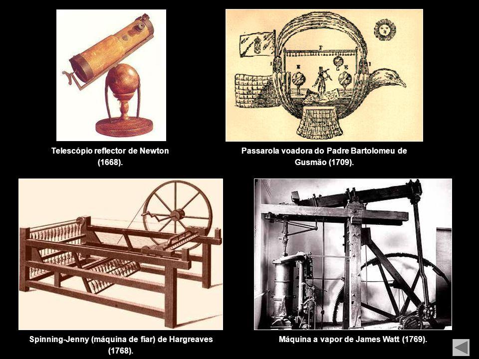 Termómetro de Galileu (1592).Microscópio de Hooke (1665).