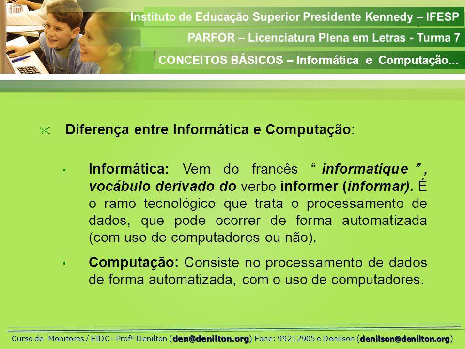 Aula 01 den@denilton.org denilson@denilton.org Curso de Monitores / EIDC– Profº Denilton ( den@denilton.org ) Fone: 99212905 e Denilson (denilson@denilton.org) MEMÓRIAS RAM QUANTO À TECNOLOGIA EMPREGADA a) EDO (Extended Data Out) · Característica essencial - capacidade de permitir ao processador acessar um endereço da memória ao mesmo tempo em que esta ainda estava fornecendo dados de uma solicitação anterior.