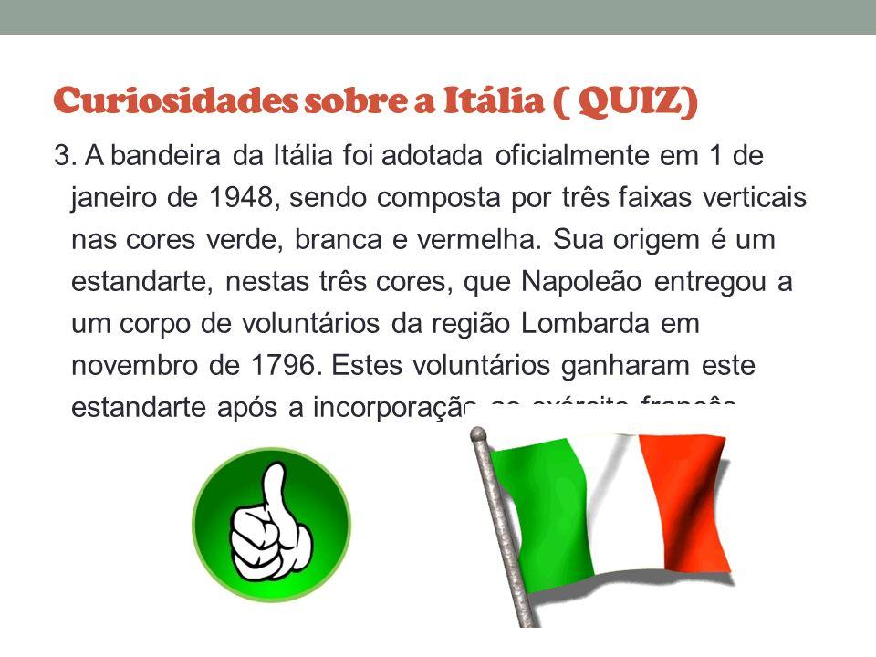 Curiosidades sobre a Itália ( QUIZ) 2. Em alguns supermercados o consumidor recebe uma máquina de leitura de código de barras portátil, que é utilizad