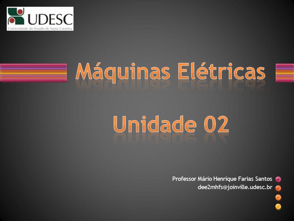 Professor Mário Henrique Farias Santos dee2mhfs@joinville.udesc.br