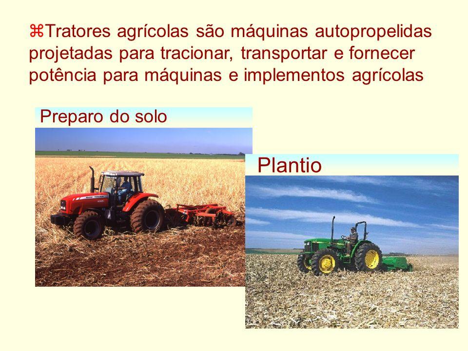 zTratores agrícolas são máquinas autopropelidas projetadas para tracionar, transportar e fornecer potência para máquinas e implementos agrícolas Prepa