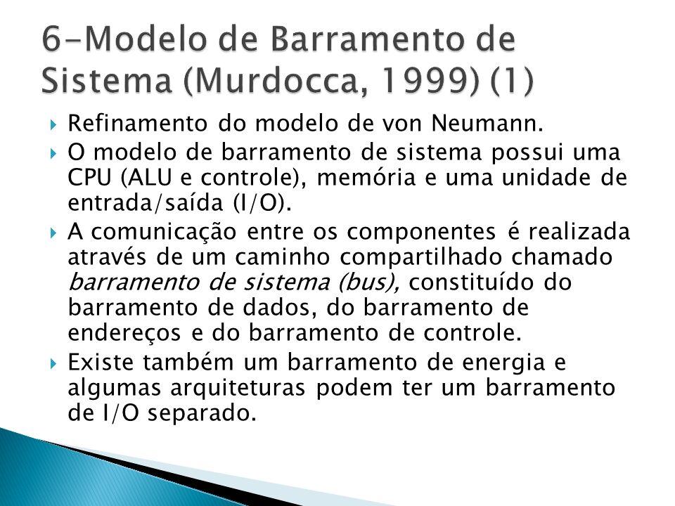 Refinamento do modelo de von Neumann.