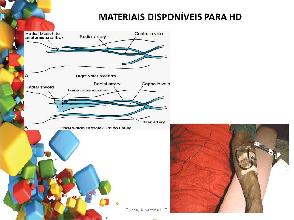MATERIAIS DISPONÍVEIS PARA HD Cunha, Albertina L. C.
