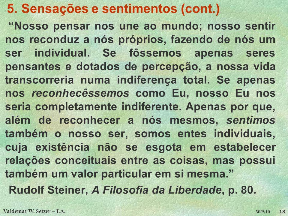 Valdemar W.Setzer – I.A. 18 30/9/10 5.