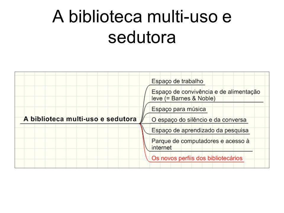 A biblioteca multi-uso e sedutora
