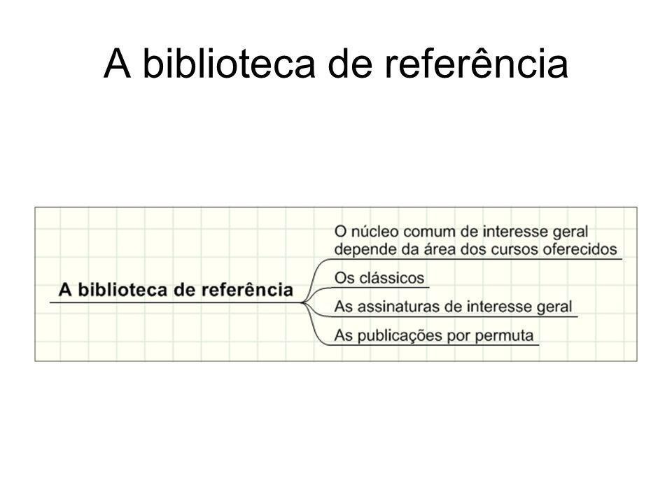 A biblioteca de referência