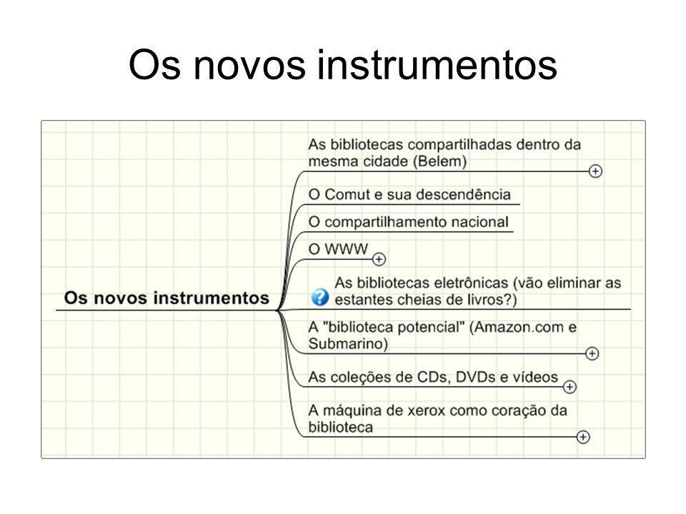 Os novos instrumentos