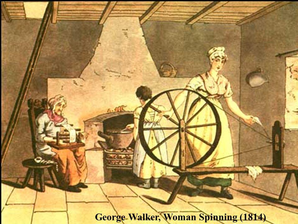 George Walker, Woman Spinning (1814)