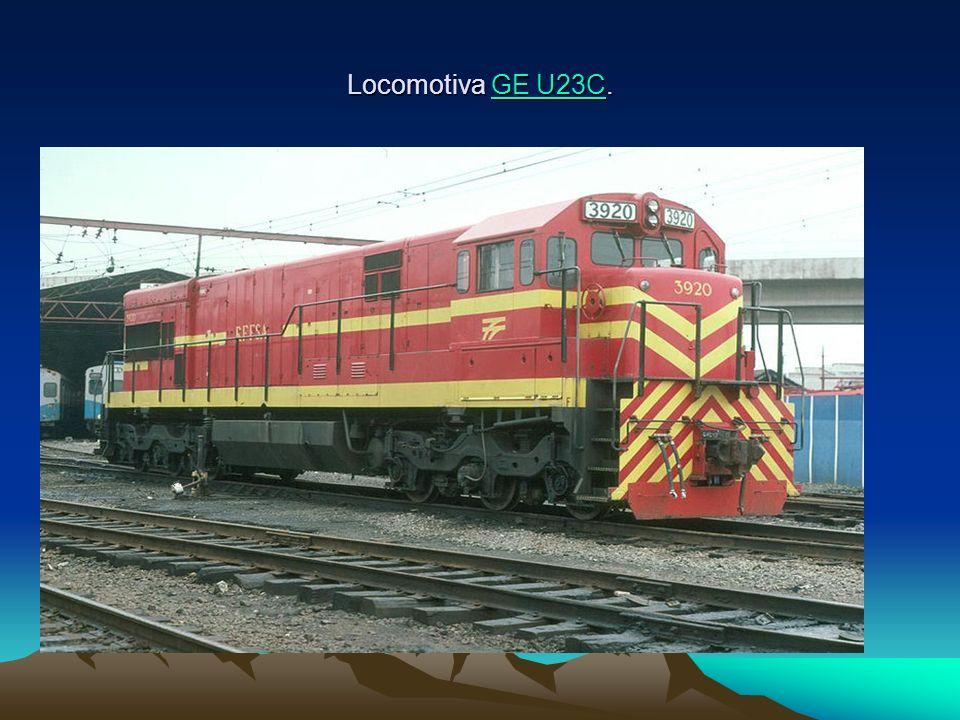 Locomotiva GE U23C. GE U23CGE U23C