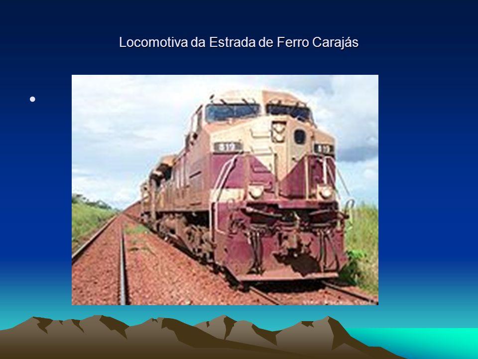 Locomotiva da Estrada de Ferro Carajás