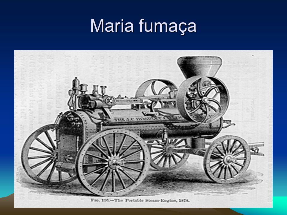 Primeiras Locomotivas As primeiras locomotivas apareceram no século XIX, eram propulsionadas por motores a vapor.