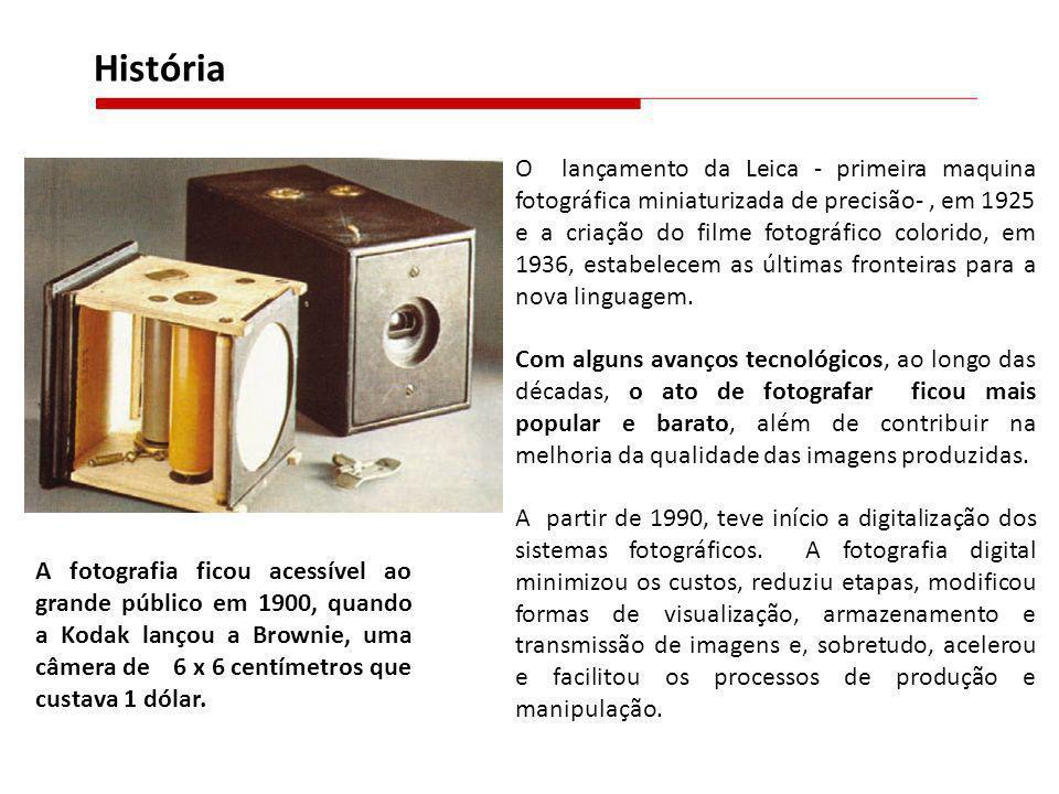 O lançamento da Leica - primeira maquina fotográfica miniaturizada de precisão-, em 1925 e a criação do filme fotográfico colorido, em 1936, estabelec