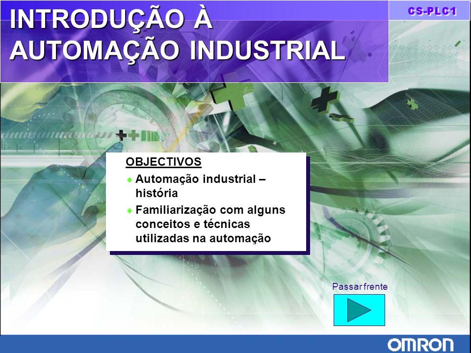 Introdução à automação industrial TÉCNICAS DE AUTOMATIZAÇÃO Mecânica Pneumática Hidráulica Eléctrica Electrónica A chegada da electrónica à industria foi uma perfeita revolução.