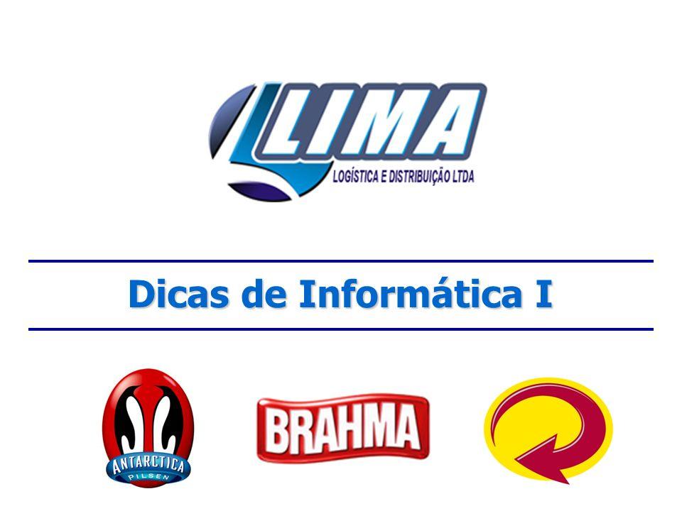 4 – Respeitar a Rede Local e Remota responsável Todo computador da Lima está conectado numa Rede de Computadores, seja em Rio Verde, Jataí ou outra cidade.