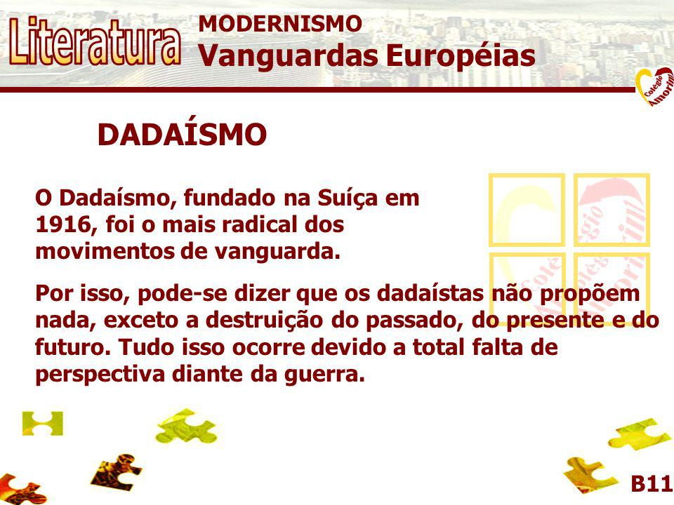 MODERNISMO Vanguardas Européias DADAÍSMO Escultura Ready Made de Marcel Duchamp