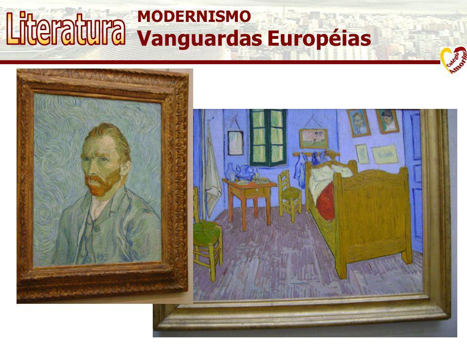 MODERNISMO Vanguardas Européias Quarto em Arles Vincent van Gogh, 1889 Musée d'Orsay - Paris