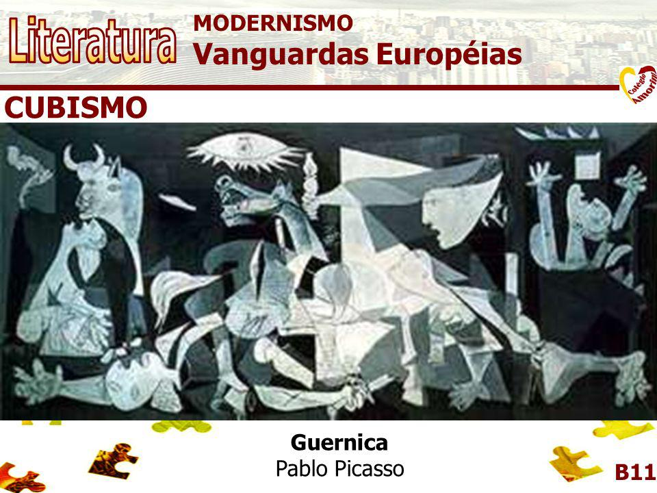 MODERNISMO Vanguardas Européias