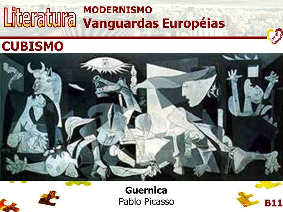 MODERNISMO Vanguardas Européias B11 Vanguardas Européias - Cubismo - Dadaísmo - Expressionismo - Futurismo - Surrealismo
