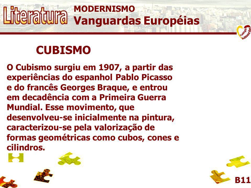 CUBISMO MODERNISMO Vanguardas Européias B11 Guernica Pablo Picasso