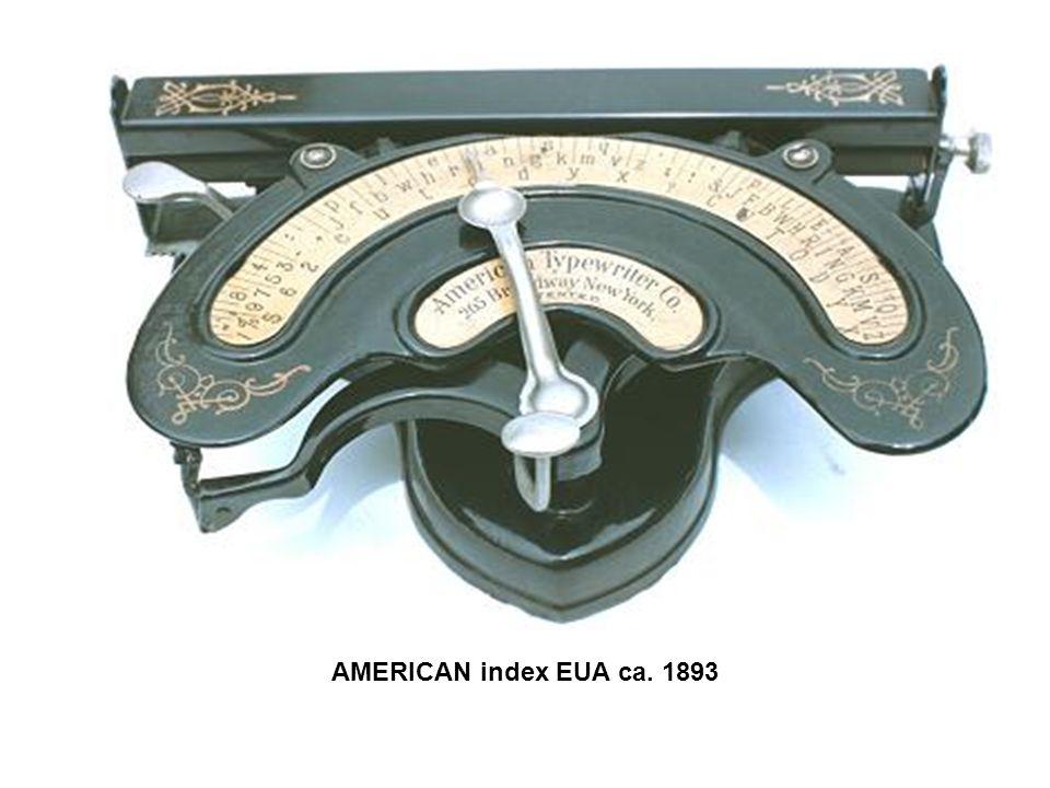 AMERICAN index EUA ca. 1893