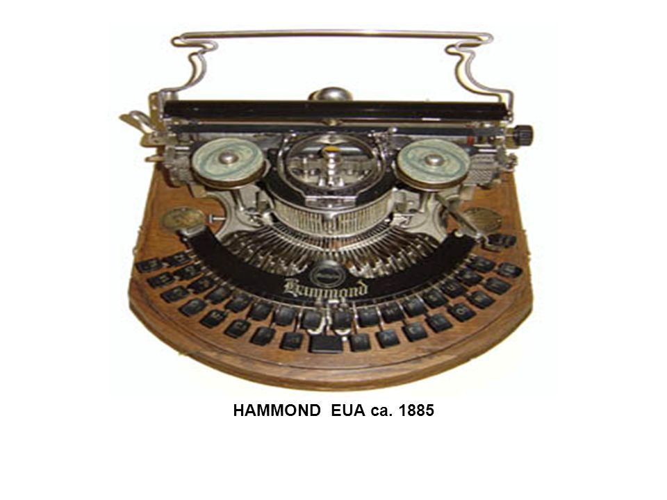 HAMMOND EUA ca. 1885