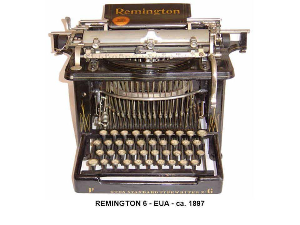 REMINGTON 6 - EUA - ca. 1897