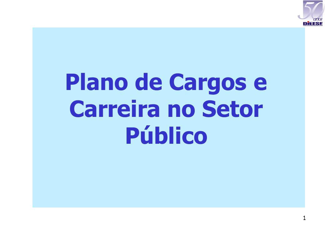 1 Plano de Cargos e Carreira no Setor Público