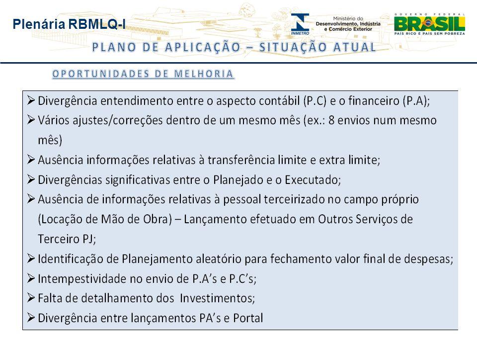 Plenária RBMLQ-I