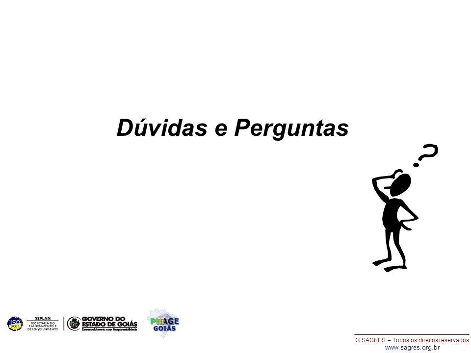 © SAGRES – Todos os direitos reservados www.sagres.org.br Dúvidas e Perguntas