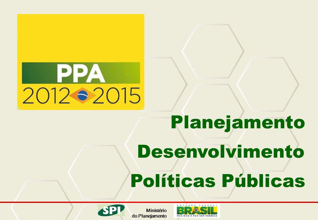 Ministério do Planejamento Desenvolvimento Planejamento Políticas Públicas