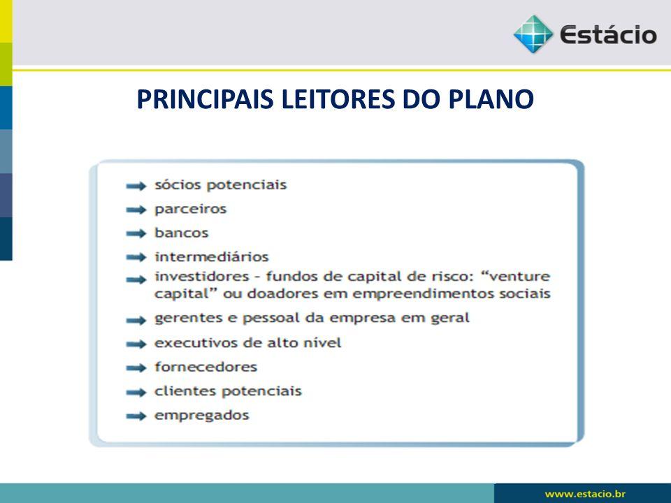 PRINCIPAIS LEITORES DO PLANO