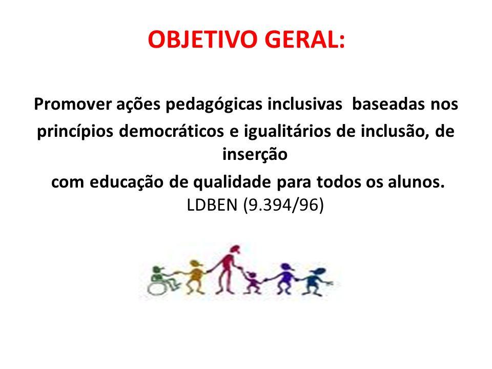 Objetivos Específicos : Promover práticas mais cooperativas e menos competitivas nas sala de aulas e na escola.