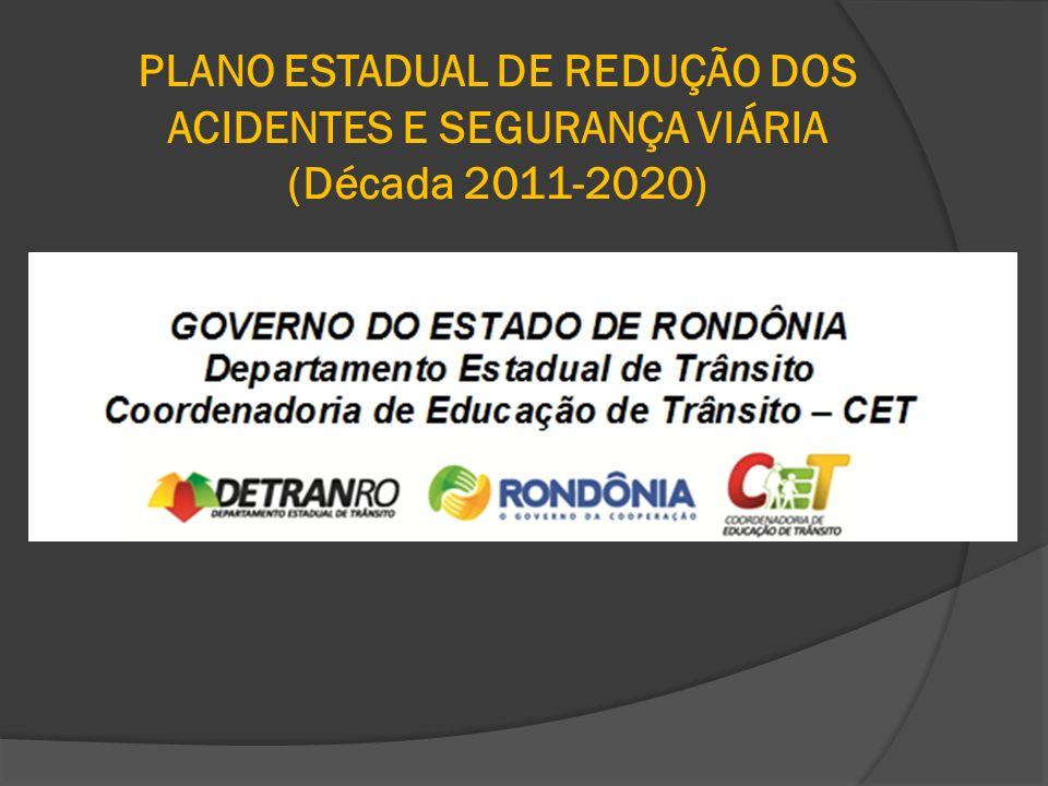 PLANO ESTADUAL DE REDUÇÃO DOS ACIDENTES E SEGURANÇA VIÁRIA (Década 2011-2020)