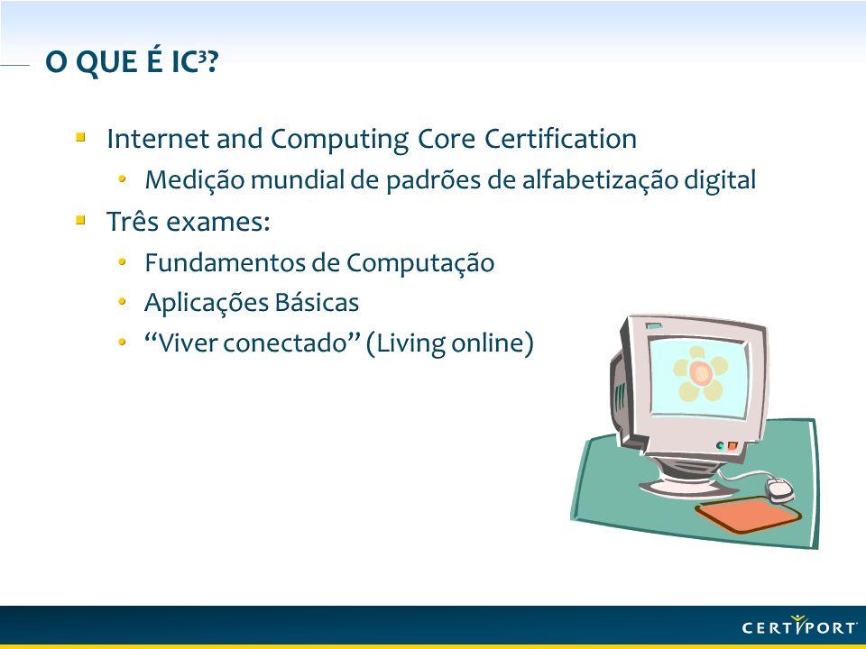 O QUE É IC³?