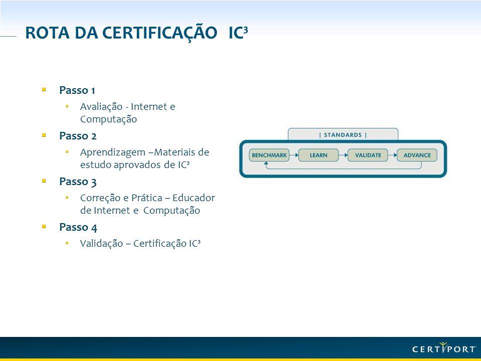 ROTA DA CERTIFICAÇÃO IC³