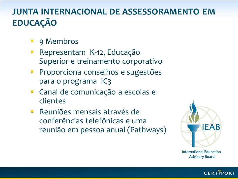 JUNTA INTERNACIONAL DE ASSESSORAMENTO EM EDUCAÇÃO