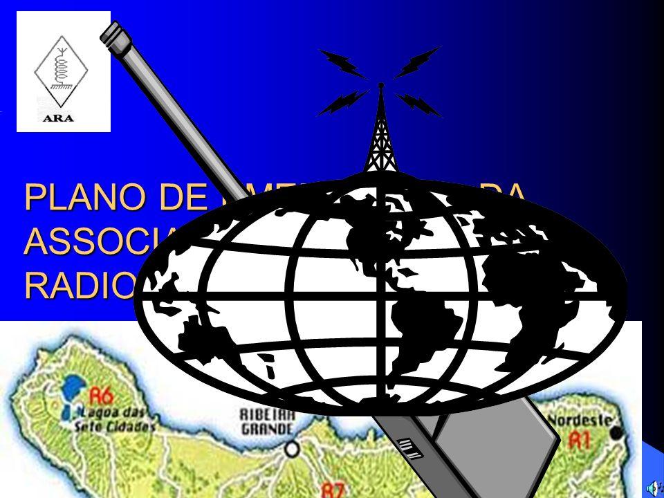 PLANO DE EMERGÊNCIA DA ASSOCIAÇÃO DE RADIOAMADORES DOS AÇORES