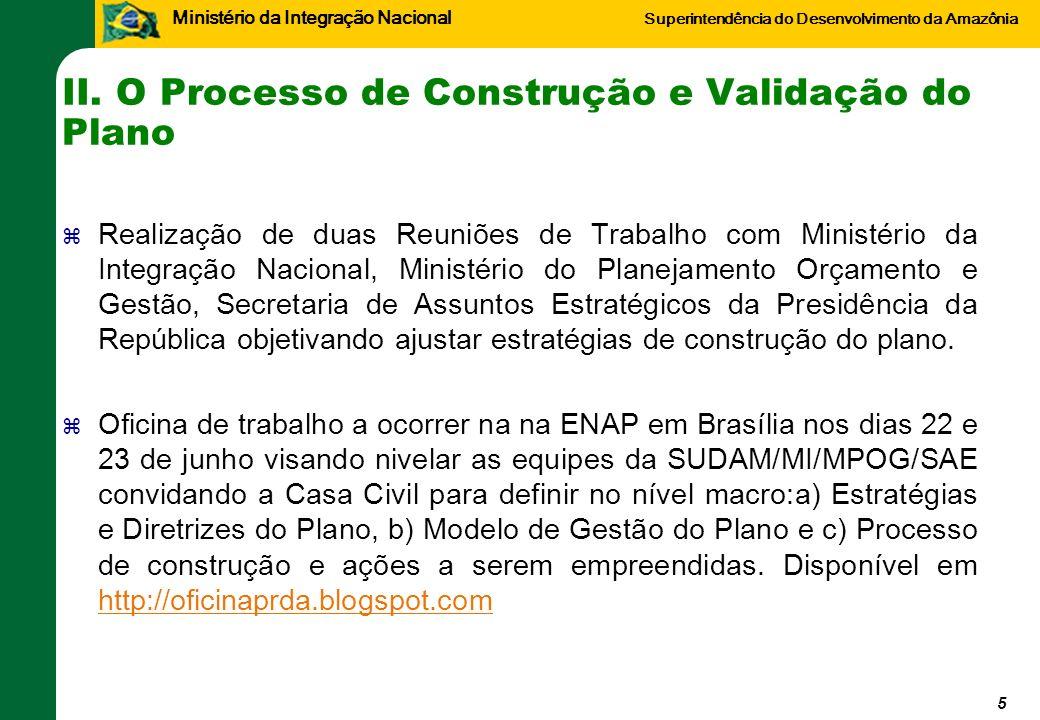 Ministério da Integração Nacional Superintendência do Desenvolvimento da Amazônia III.