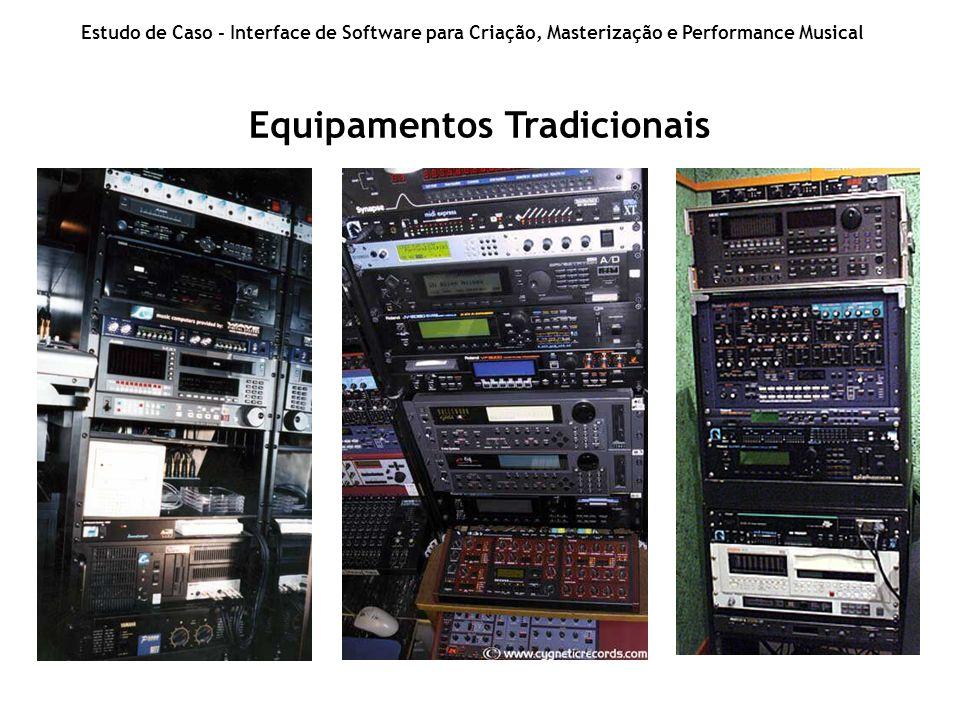 Equipamentos Tradicionais Estudo de Caso - Interface de Software para Criação, Masterização e Performance Musical