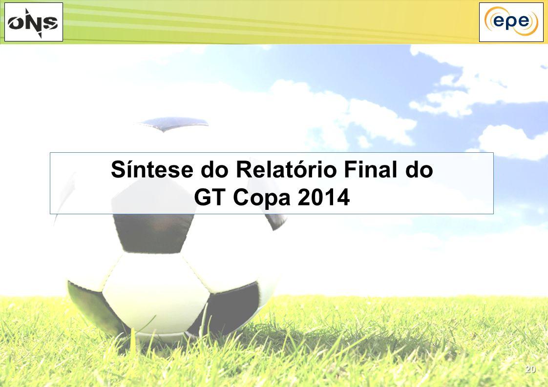20 Síntese do Relatório Final do GT Copa 2014