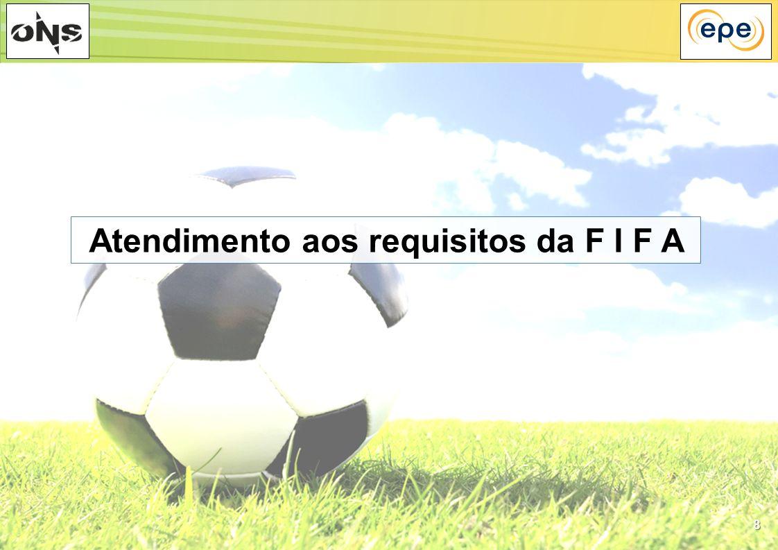 8 Atendimento aos requisitos da F I F A
