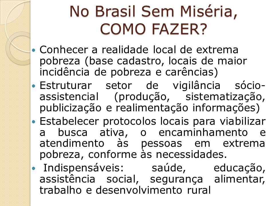 No Brasil Sem Miséria, COMO FAZER.